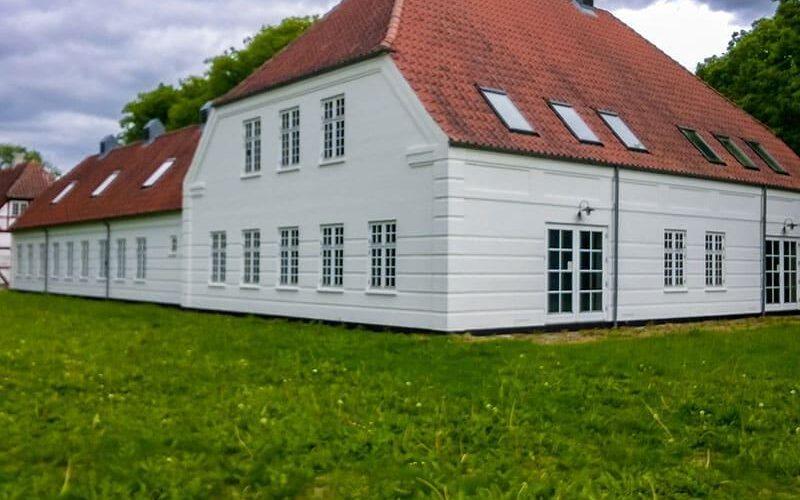 Udvendig maling af facade